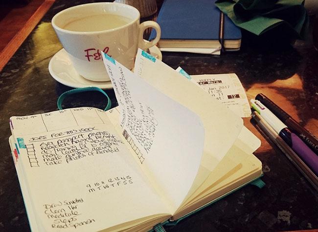 Планирование в ежедневнике