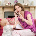 Время, проведенное одновременно с детьми и гаджетами, некачественное