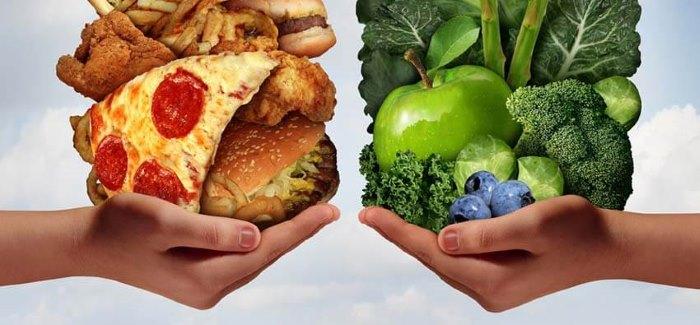 Полезные продукты и средние порции насыщают быстрее