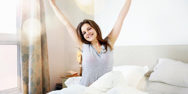 как легко просыпаться утром